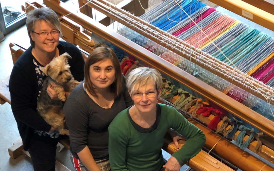 Martina Fenner-Fellmann und Kerstin Bermond – Die Handweberei GbR