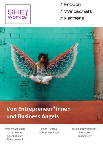 Von Entrepreneur*innen und Business Angels – SHE works! im Juli