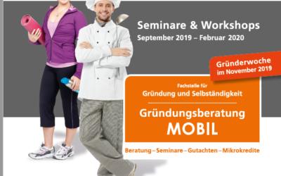Das neue Seminar- und Workshop-Programm von MOBIL ist da!