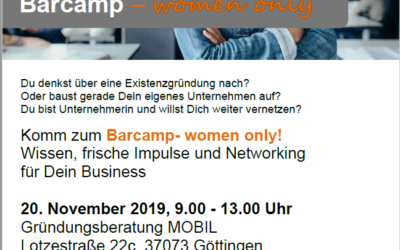 Barcamp – women only