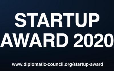 Diplomatic Council Startup Leadership Award 2020