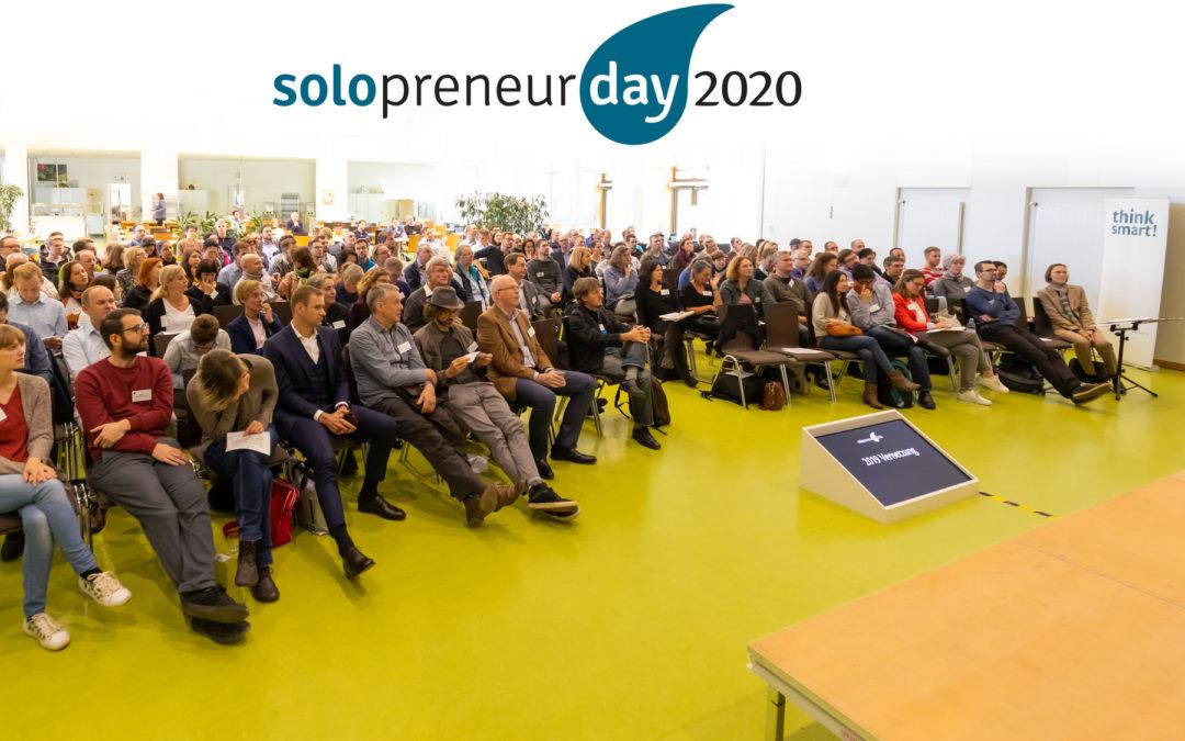 Solopreneur Day 2020: Fachtagung für Soloselbständige