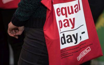 Equal Pay Day 2021 am 14. März 2021