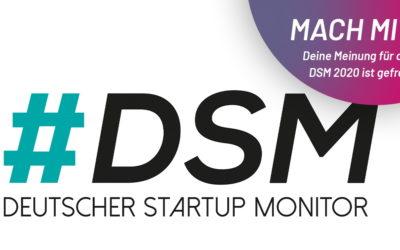 Befragung zum Deutschen Startup Monitor (DSM) gestartet