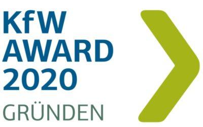 KfW Award 2020 Gründen – Jetzt bewerben