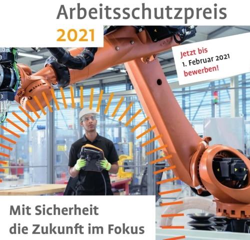 Bewerbungsphase für den Deutschen Arbeitsschutzpreis 2021 gestartet