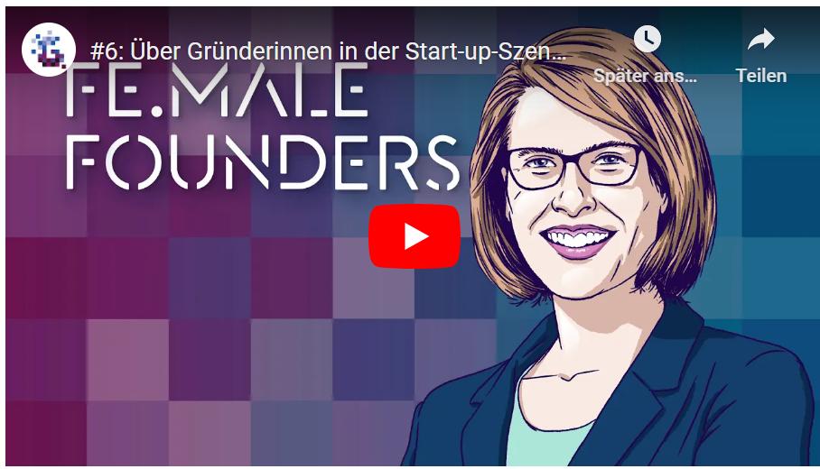 Podcast: Über Gründerinnen in der Start-up-Szene mit Franziska Teubert